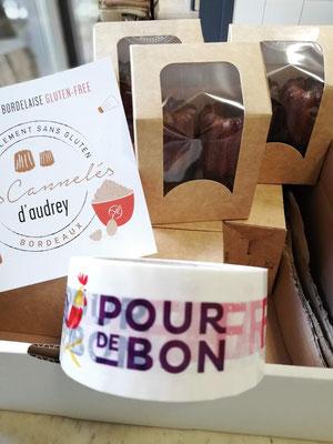 Livraison - Pour de Bon - Cannelés bio sans gluten - Les Cannelés d'Audrey