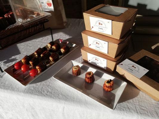 Noël sans gluten - Bordeaux - Les Cannelés d'Audrey