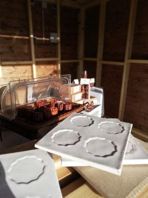 Plat à cannelés - artisanat - Bordeaux - Les Cannelés d'Audrey