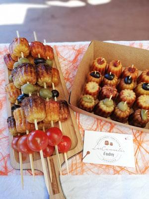 Apéritif sans gluten - cannelés salés - Bordeaux - Les Cannelés d'Audrey