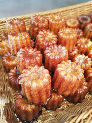 Cannelés sans gluten - BIO - Bordeaux - Les Cannelés d'Audrey