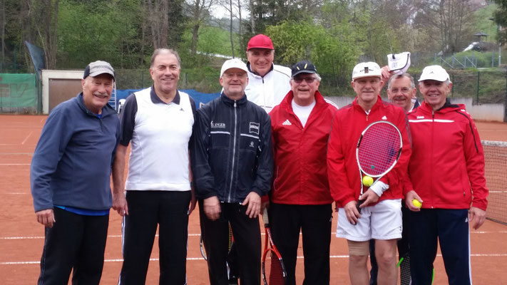 Tennis im Regen!