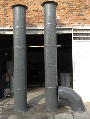 Tubos para corrosión medidas especiales