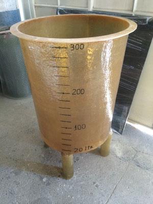 Cisterna traslucida con dosificador