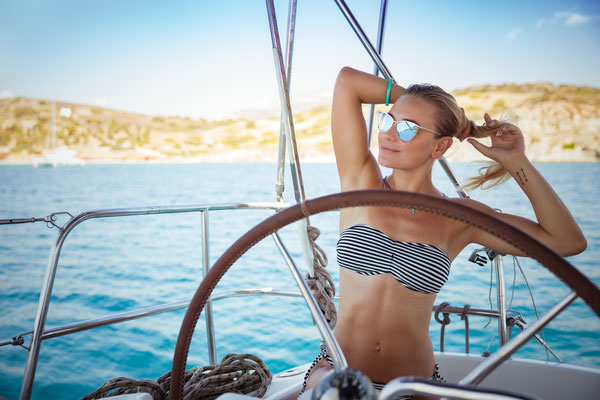 Segeln chartern vor Sardinien Premium Katamaran