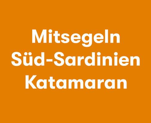 Mitsegeln Süd Sardinien Katamaran