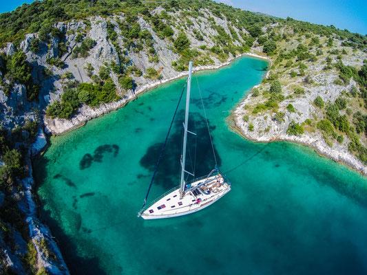 Badeurlaub Strandurlaub auf Segelyacht
