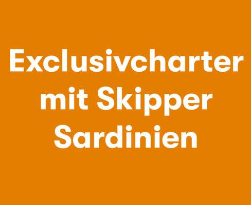 Exklusivcharter mit Skipper Sardinien