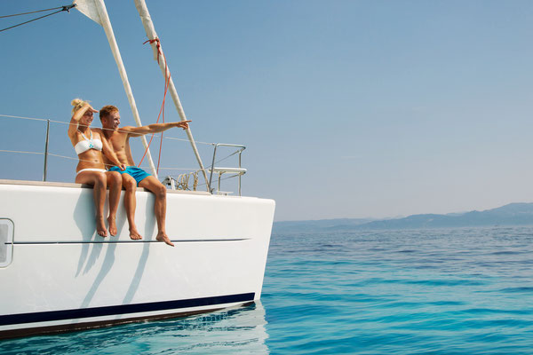 Segeln vor Sardinien mit Lagoon