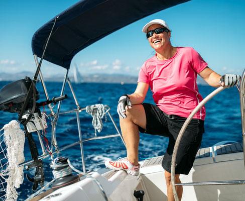 Segelyacht mit Skipper segeln Olbia
