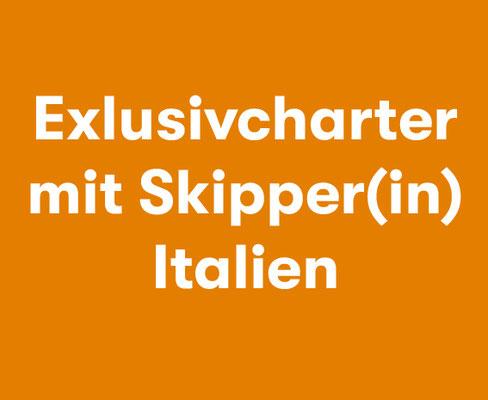 Exklusivcharter mit Skipper Italien