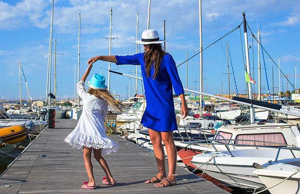 Familienurlaub auf Segelyacht Italien