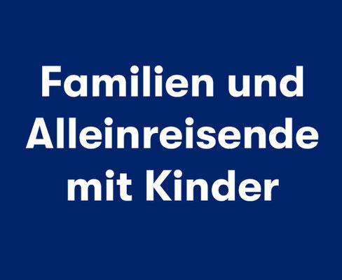 Aktiv Mitsegeln für Familien, Alleinreisende mit Kindern