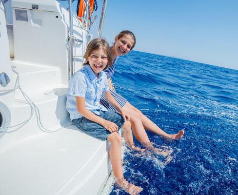 Kindersegeln Italien mit Skipper