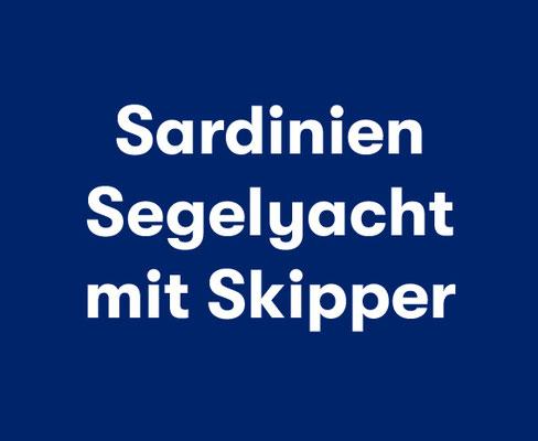 Sardinien Segelyacht mit Skipper