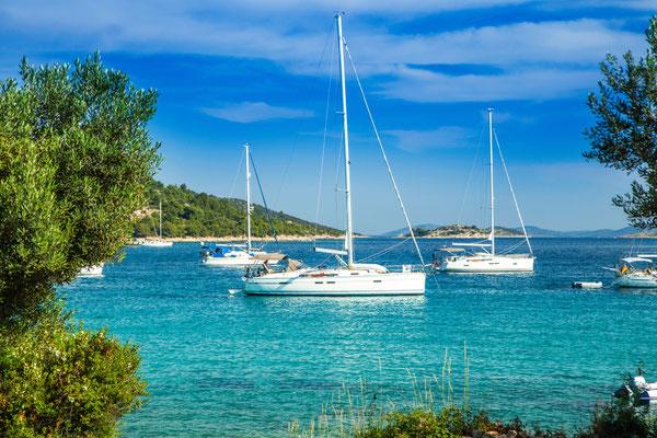 Segeln an der Toskana Küste