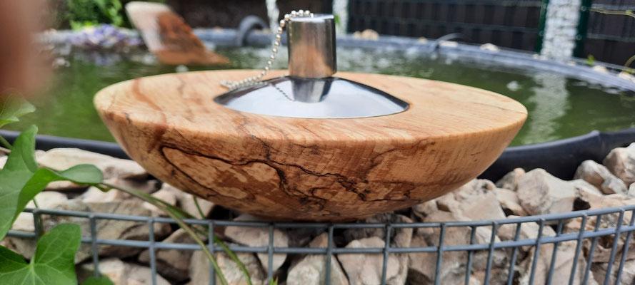 Petroleumlampe 3, Buche gestockt, Ø: 200 mm, H: 90 mm