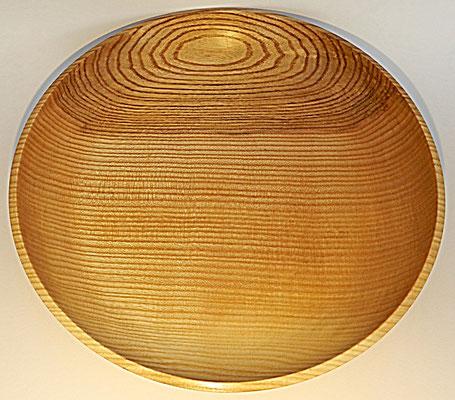 Schale 7: Ø: 360 mm, H: 55 mm,  Wandstärke: 7 mm