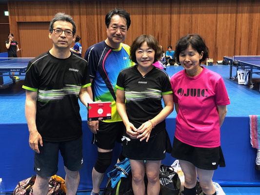 3,4位トーナメント準優勝:神宮前T.T.C(A)