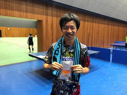一般男子・順位トーナメント優勝:田林選手