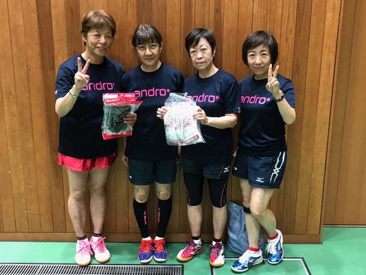 女子順位トーナメント優勝:HAPPY