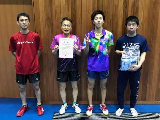 男子3位入賞:アクティブ(A)