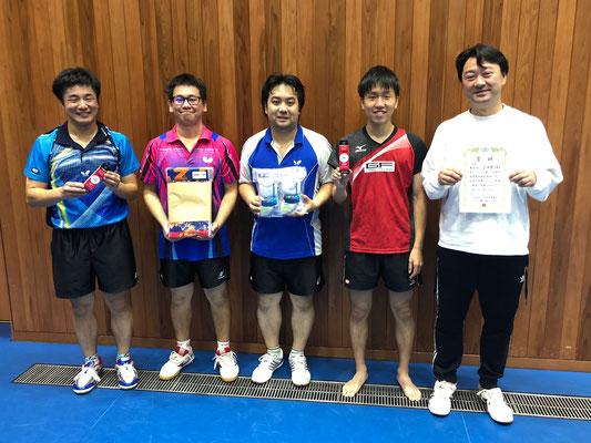 男子準優勝:JVB(A)