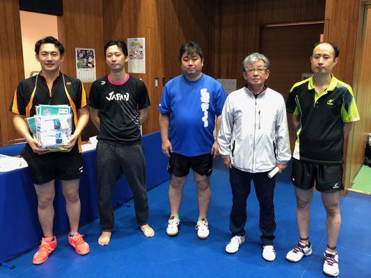 男子3位入賞:オーシャンクラブC