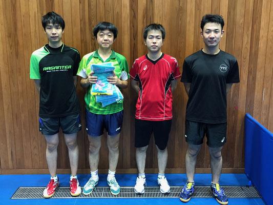 男子順位トーナメント優勝:ドランカーズ(A)