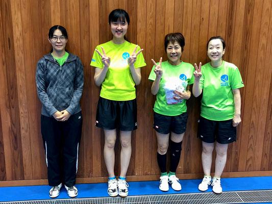 女子順位トーナメント準優勝:HELMI
