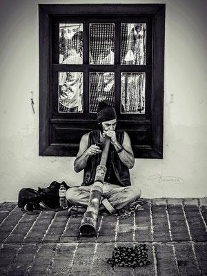 Musiker auf Lanzarote in Teguise