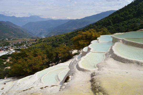 Kalkterrassen von Baishuitai