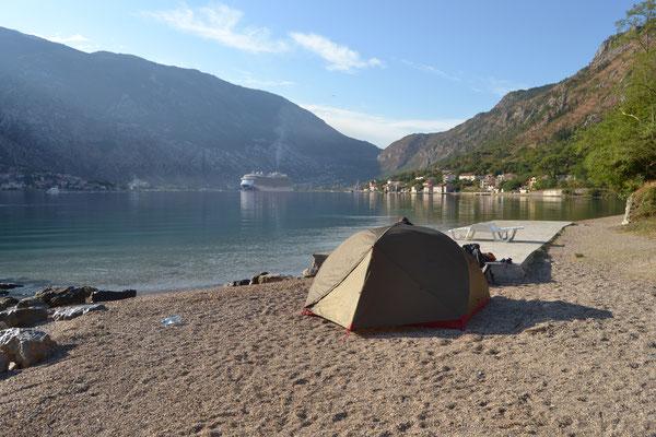 Blick auf Kotor, Montenegro