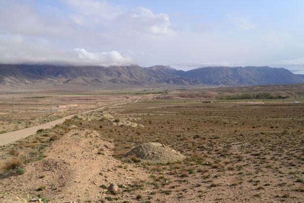 Landschaft im Norden des Landes