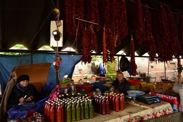 Marktstand in Tbilisi
