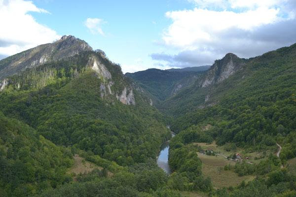 Taraschlucht, Montenegro
