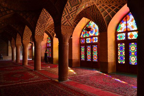 """Pinke Moschee"" in Shiraz"