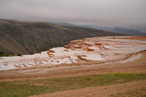 Mineralterassen von Badab-e Surt