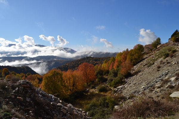 Herbstliche Morgenstimmung in der Zagori-Region