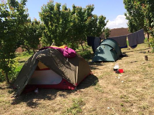 Zelten mit Steffi und Oli