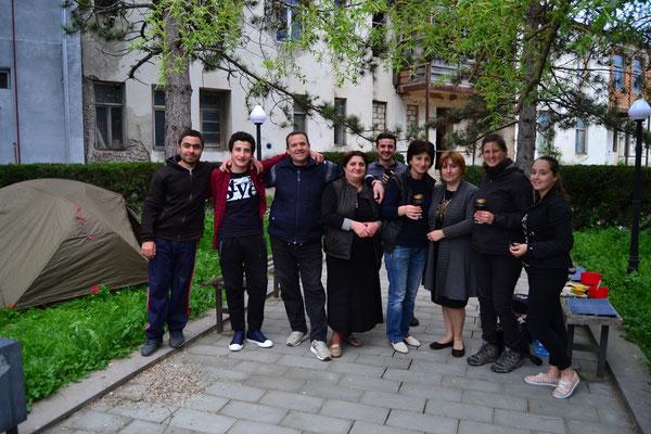 Dimitri und Familie
