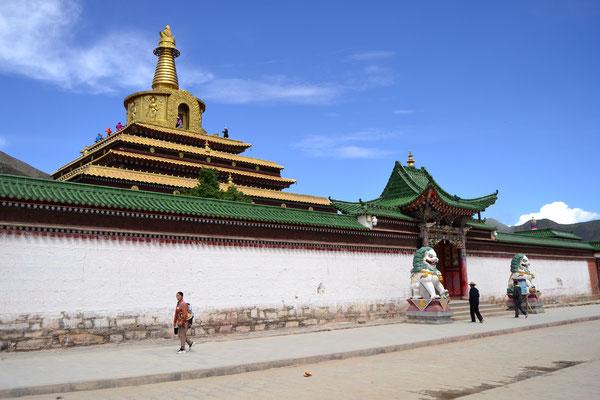 Im Buddhismus ist Gold eine heilige Farbe