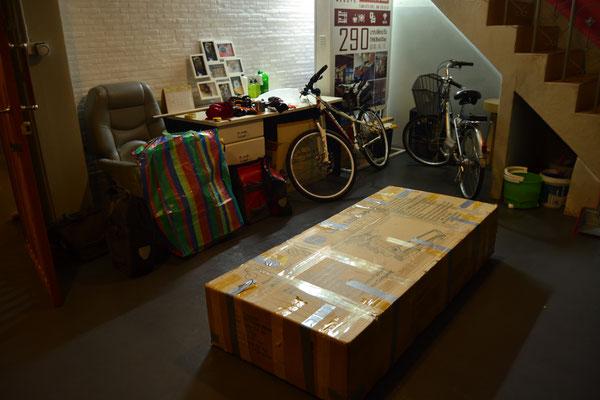 Unsere Räder sind bereits verpackt