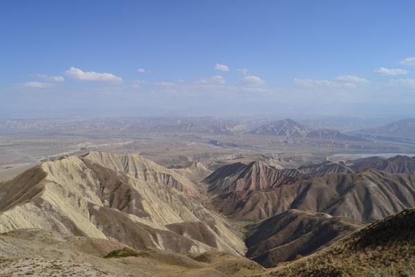 Eindruck aus dem deutlich trockenerem Zentralkirgistan