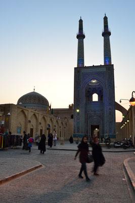 Die höchsten Minarette des Iran: Freitagsmoschee von Yazd