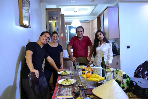 Wir bedanken uns bei Hamid aus Teheran mit selbstgemachten Käsespätzle