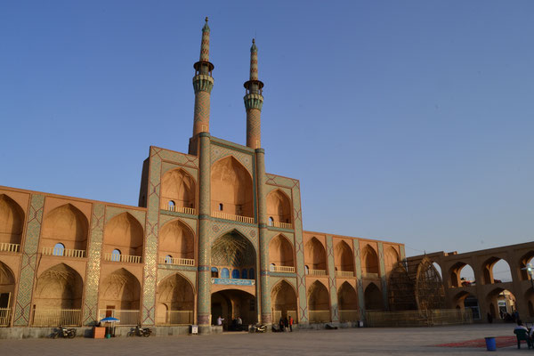 Eindrucksvoller Platz in Yazd
