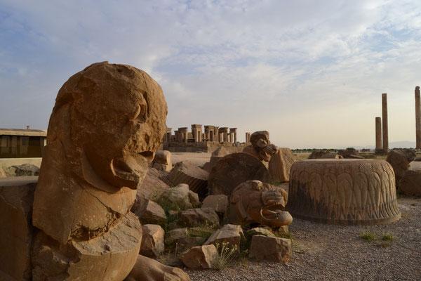 Die antike Stätte Persepolis