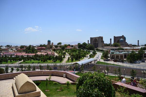 Stadtbild von Samarkand