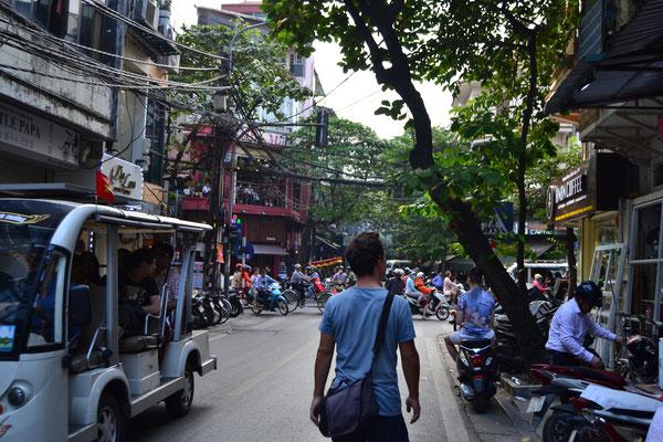 Wuseliges Treiben in Hanoi